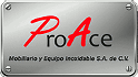 Logotipo de Acero Y Equipo Inoxidable Proace