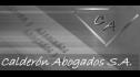 logo de Calderon Abogados